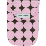 Pink Disco Dot with Wipes Case