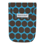 Blue Polka Dots with Wipes Case