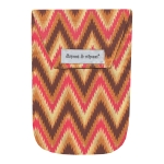Ikat Chevron with Wipes Case
