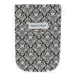Chic Damask with Wipes Case
