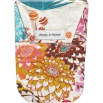 Jubilee Flower with Wipes Case