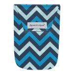 Chevron Blue & Wipes Case