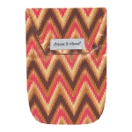 Ikat Chevron & Wipes Case