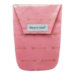 Pink Arrows & Wipes Case