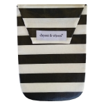 Black White Stripes & Wipes Case