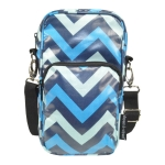 Hipster - Chevron Blue & Wipes Case