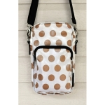 Hipster - Gold Dots & Wipes Case